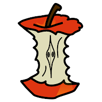 Image of apple core courtesy of http://www.wpclipart.com/
