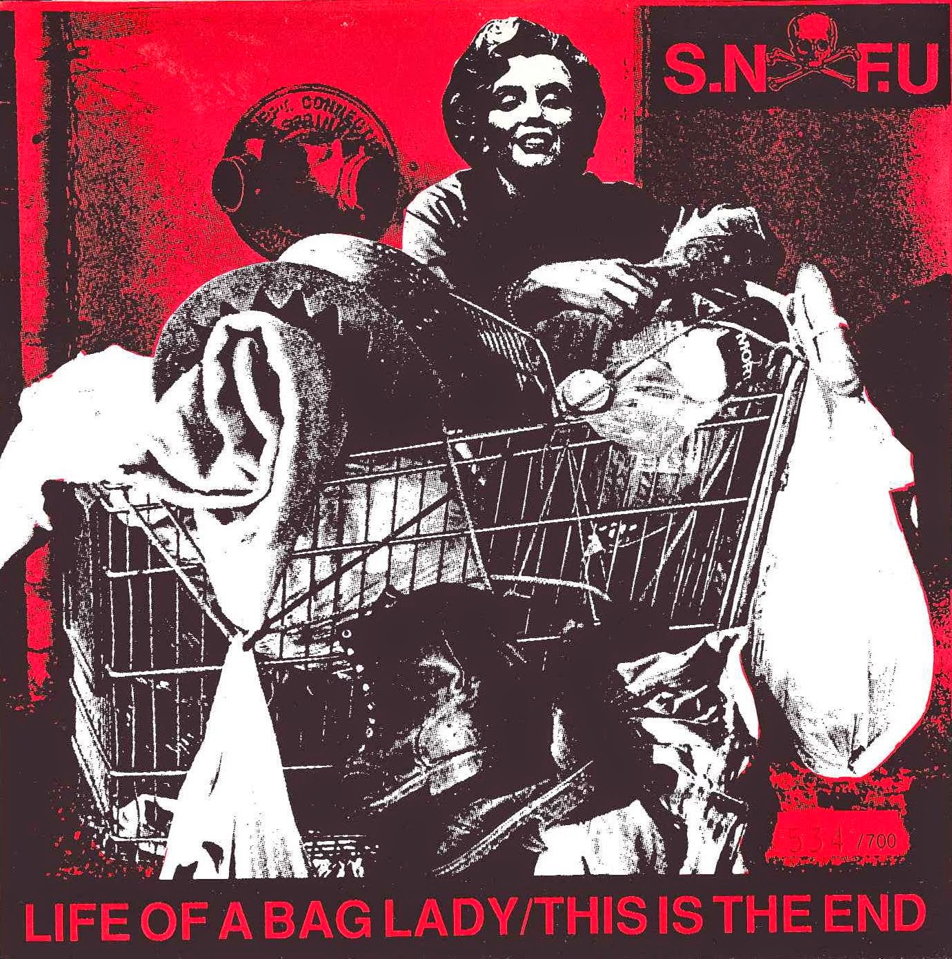 SNFU Shes Not On The Menu Dunce MixLife Of A Bag Lady