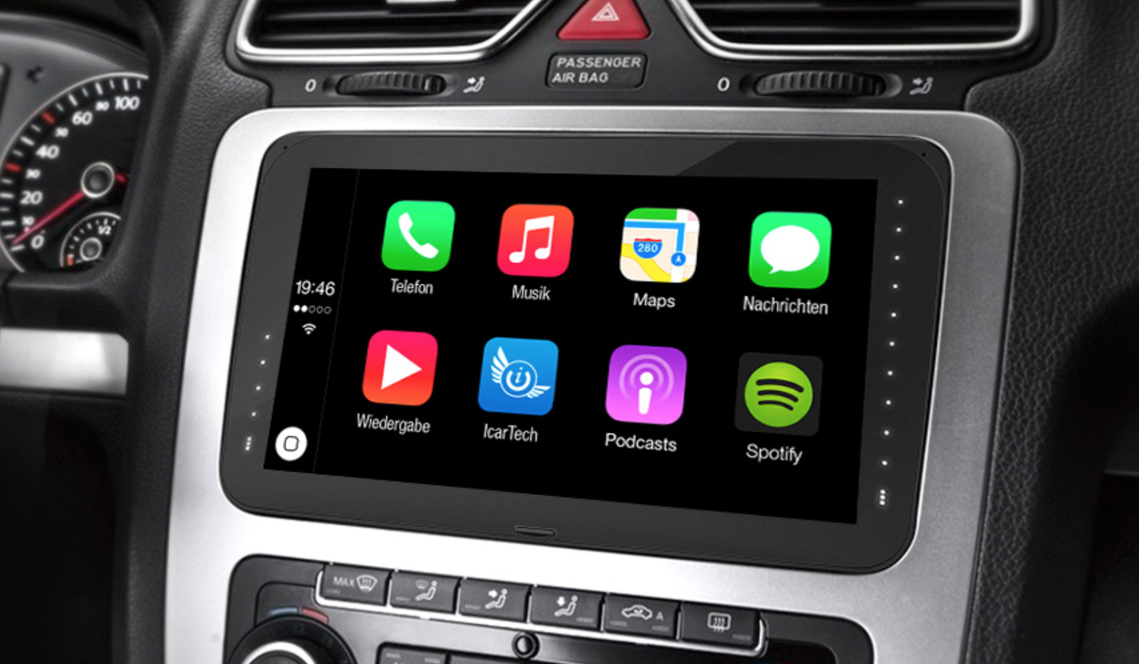 appradioworld apple carplay android auto car technology news 8 inch apple carplay and. Black Bedroom Furniture Sets. Home Design Ideas