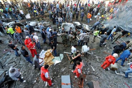 The History Behind ISIS. Their Latest Shocking Terrorist Attacks Around The World. - Suicide bombings in Beirut, November 12, 2015