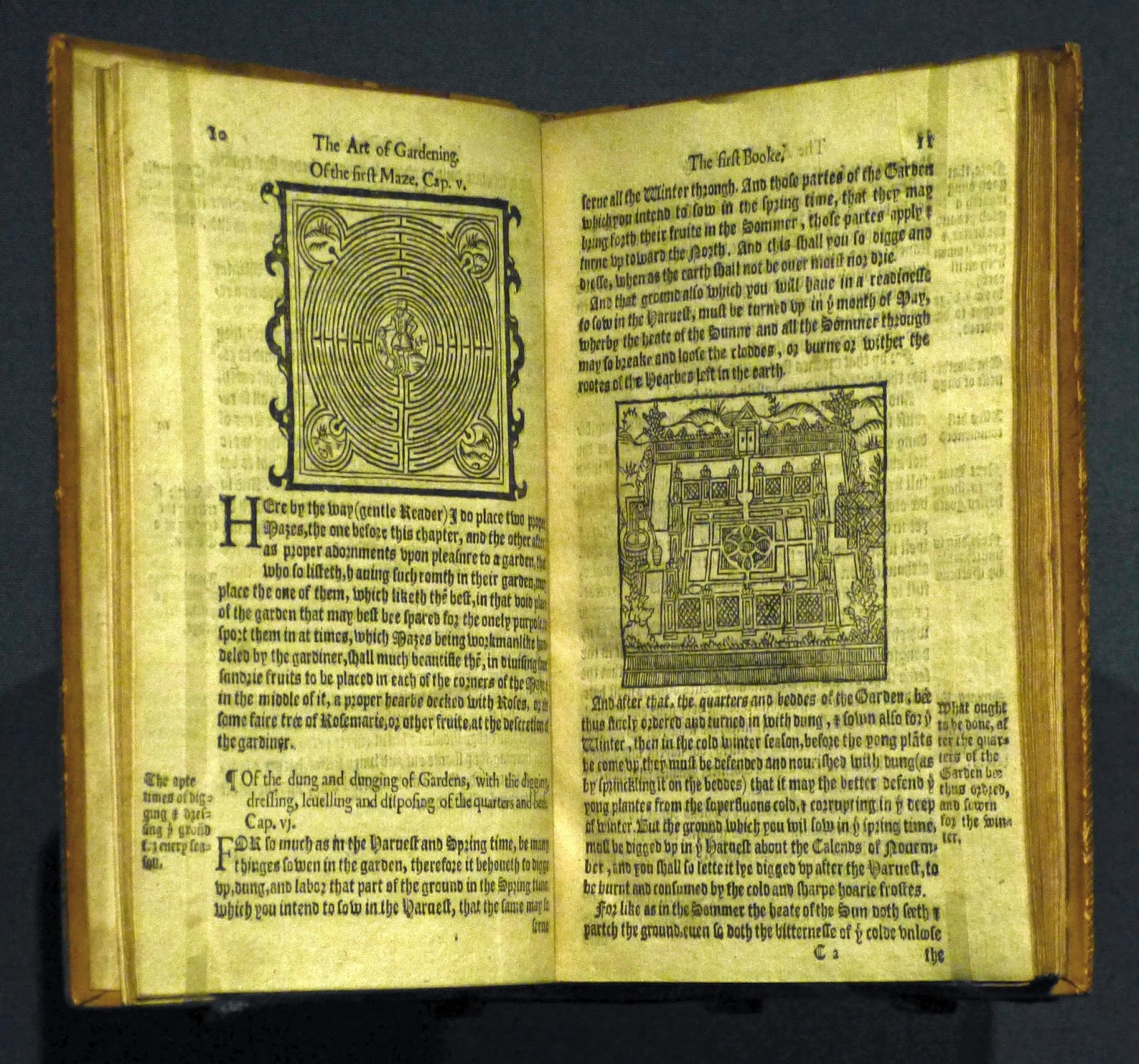 The Profitable Arte Of Gardening By Thomas Hyll (1586)