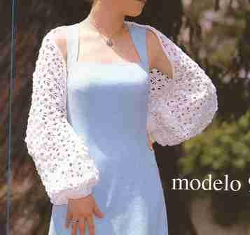 Chaqueta especial primavera a Crochet