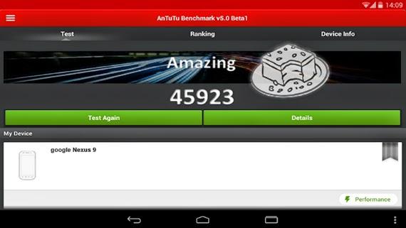 Google Nexus 9, το AnTuTu δείχνει LTE συνδεσιμότητα