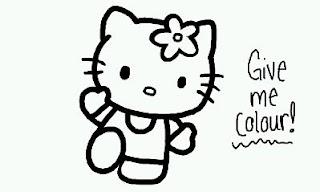 Dibujos de Hello Kitty para Pintar, parte 6