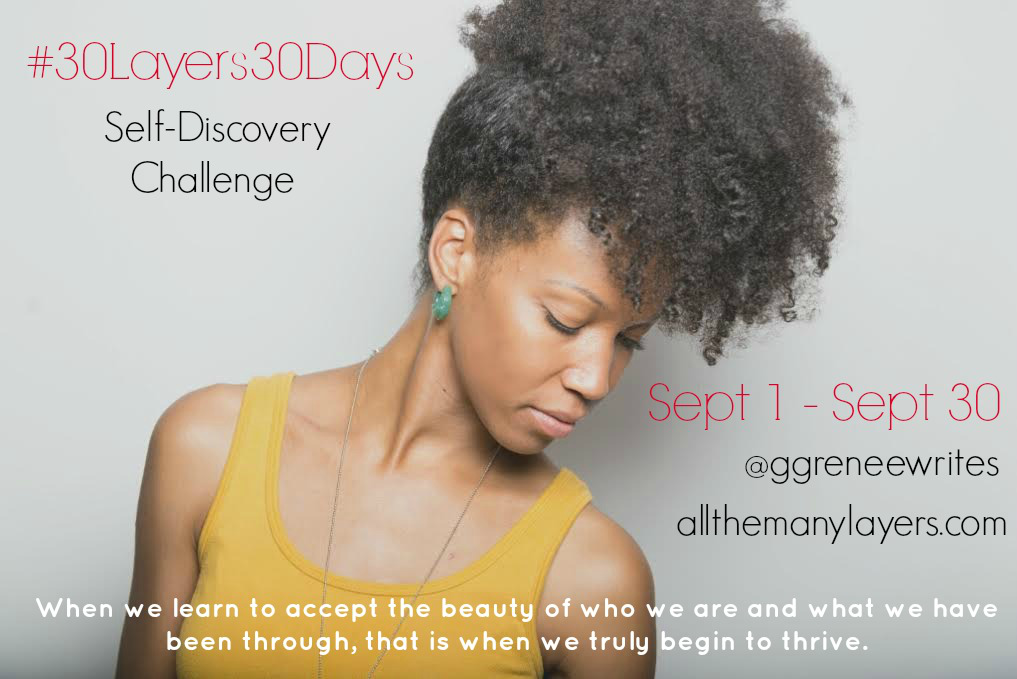 #30Layers30Days Self-Discovery Challenge Prompts