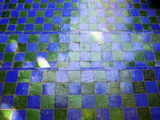 tiles, Jardin Majorelle, Marrakech