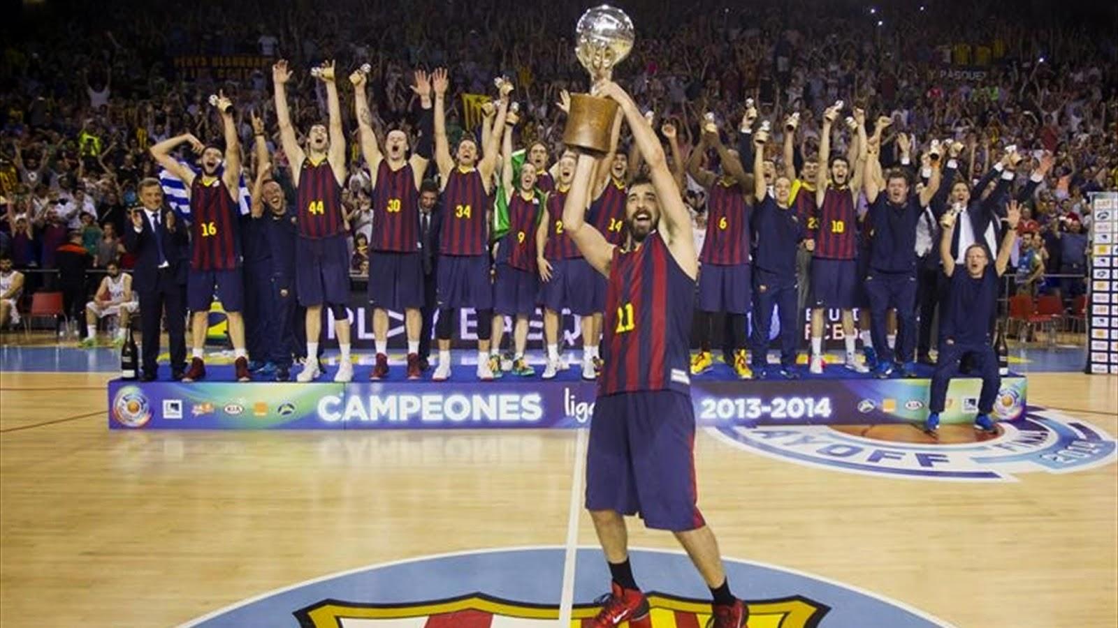 El Barça campeón de la Liga Endesa