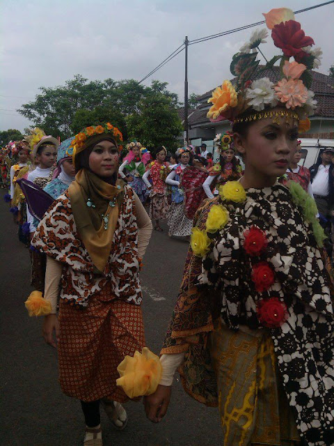 Foto Karnaval Anak SMP 3 Batang