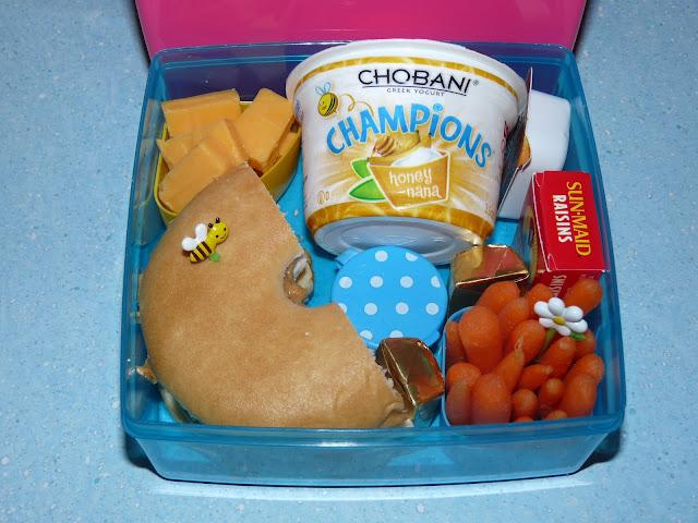 Chobani honey bento lunch