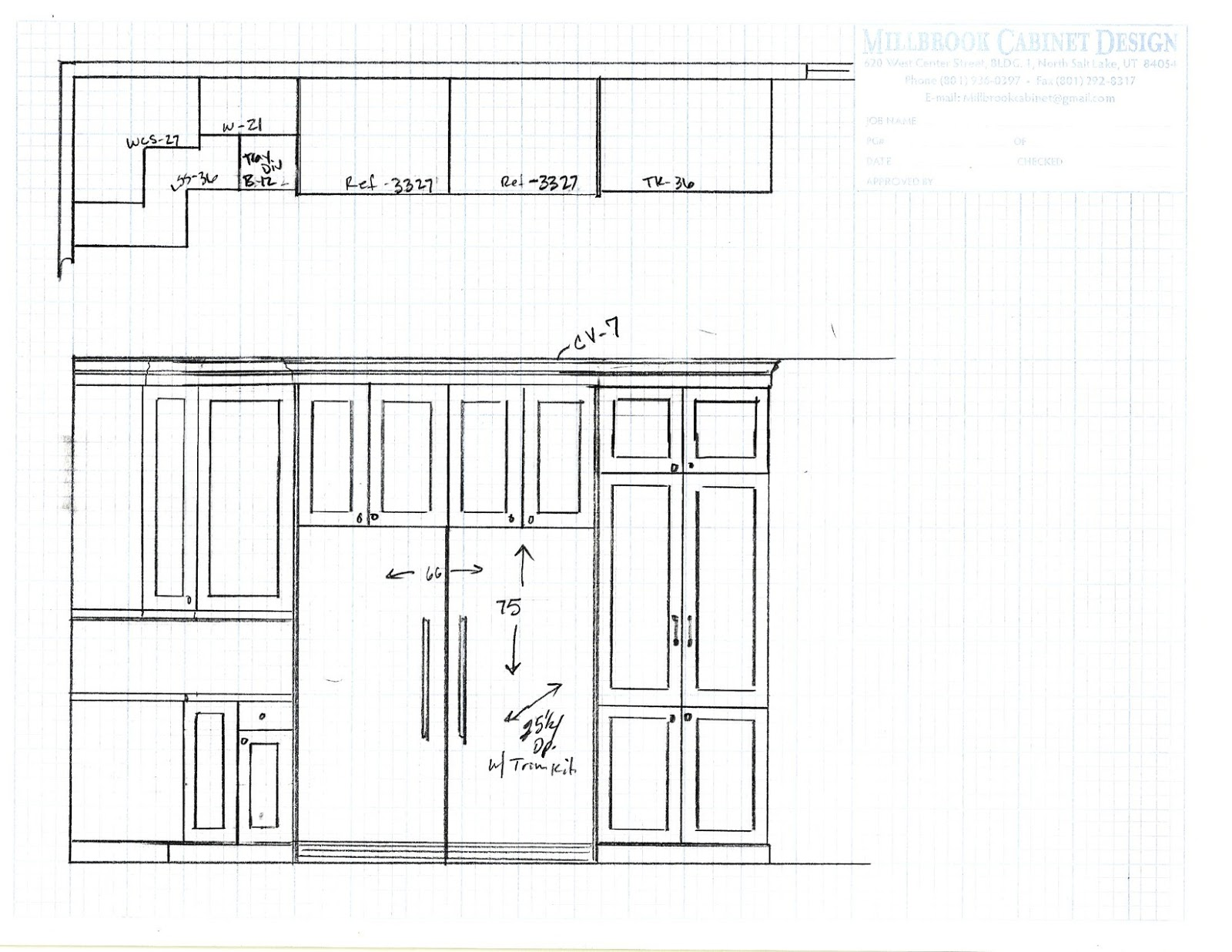 design dump: kitchen plans