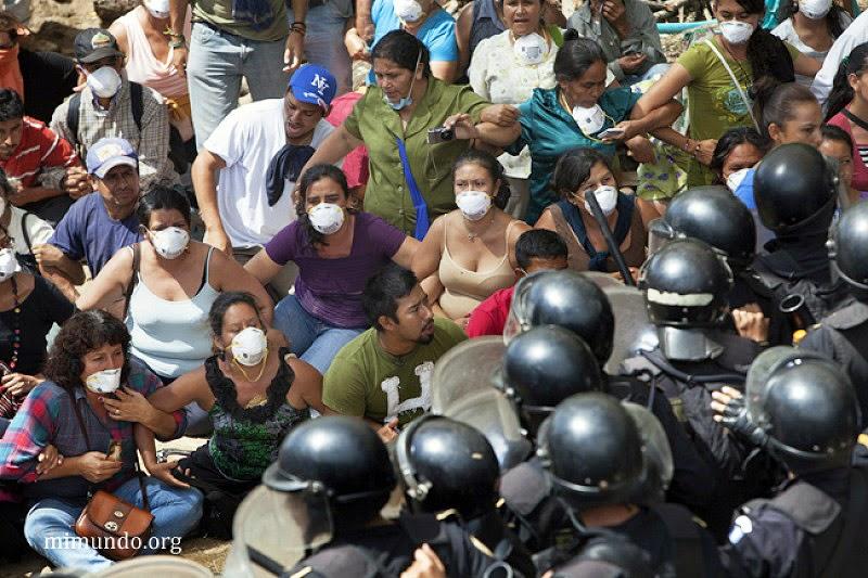No al proyecto 'La Puya' (Guatemala)
