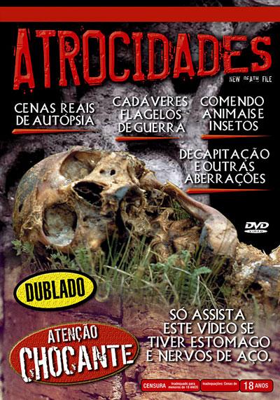 Resultado de imagem para atrocidades dvd