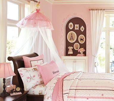 Wee Warrens: Pottery Barn Ballerina Canopy is So Cute!