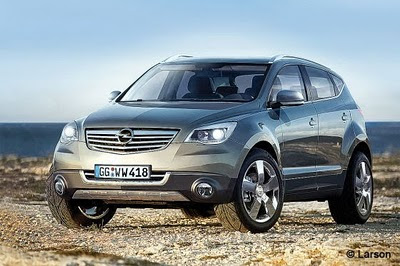 2012 Opel Astra SUV Front-side View