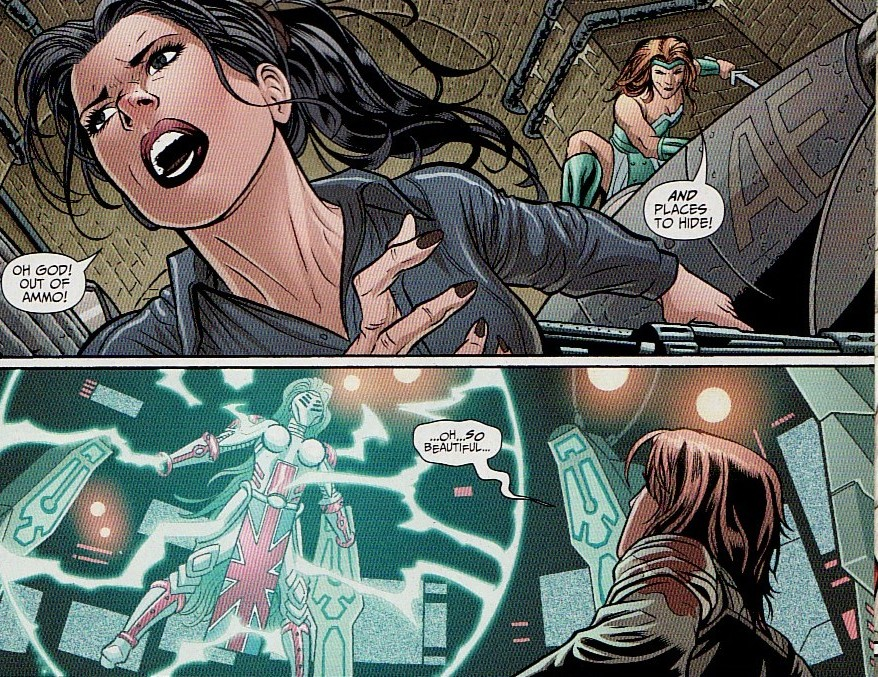 Supergirl comic box commentary review flashpoint lois lane and i like the idea of two halves of a personality at war with each other too bad there wasnt enough time in the book to explore this more thecheapjerseys Image collections