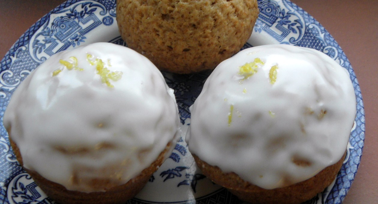 Ginger Muffins with lemon icing | Baking, Recipes and Tutorials - The ...