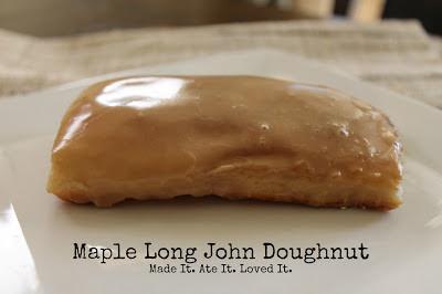 maple long john doughnut recipe