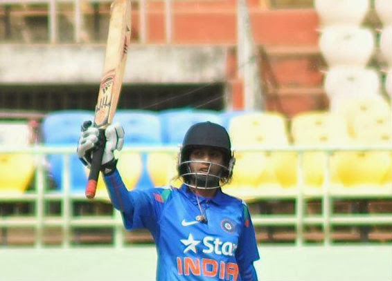 Mithali-Raj-India-vs-Sri Lanka-3rd-ODI-2014