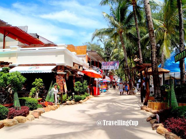 Shops in Boracay Island