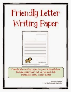 http://www.teacherspayteachers.com/Product/Friendly-Letter-Writing-Paper-1101514