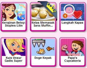game populer anak perempuan