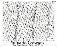 Our Daily Bread designs Fishing Net Background