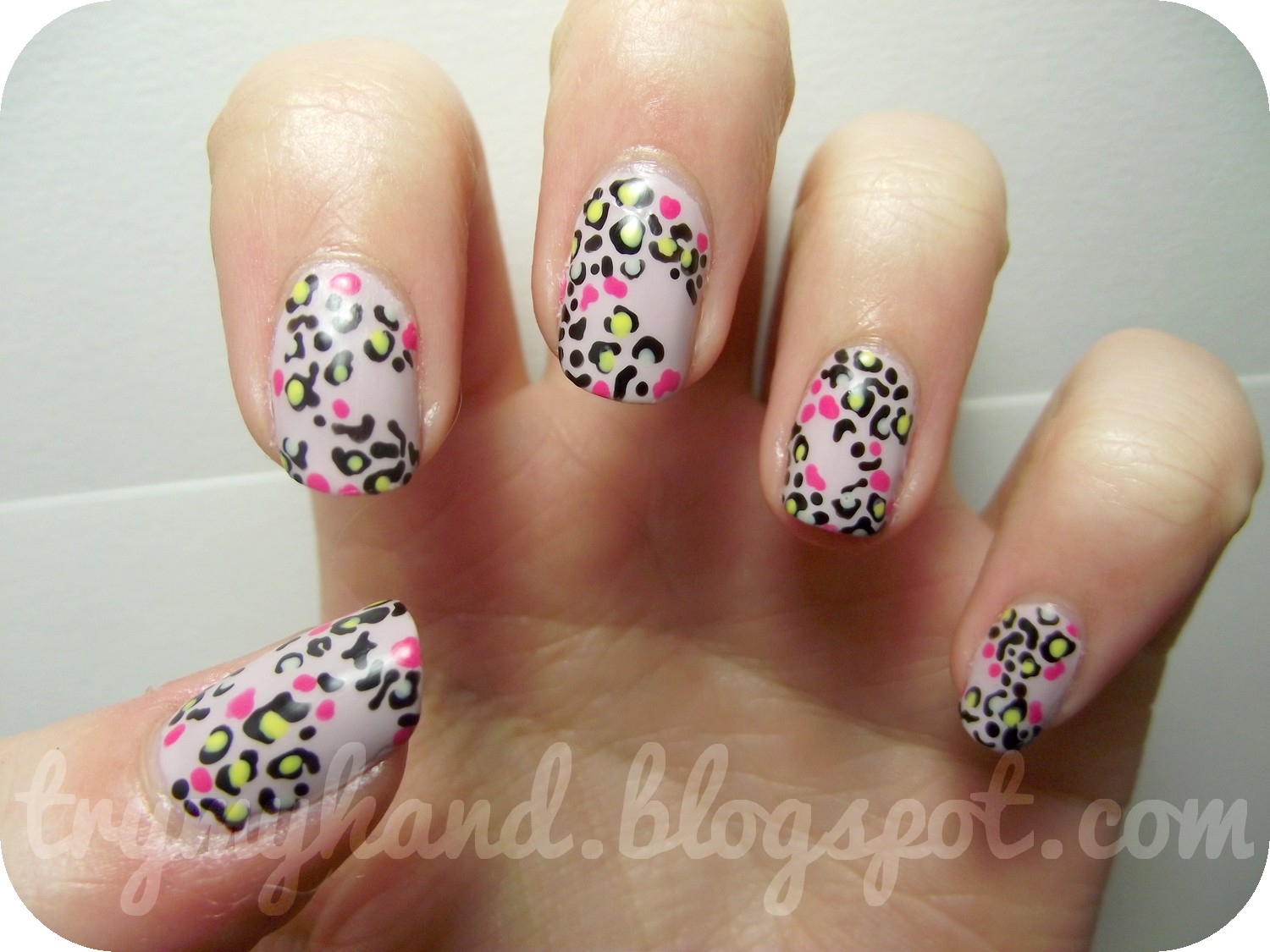 Leopard nail designs pccala course my models own wah nails nail art pen prinsesfo Images