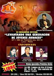LIMA, PERU:  Sabado 7 y Domingo 8 de Febrero de 2015