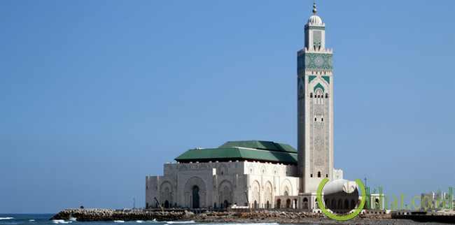 Masjid Hassan II - Maroko
