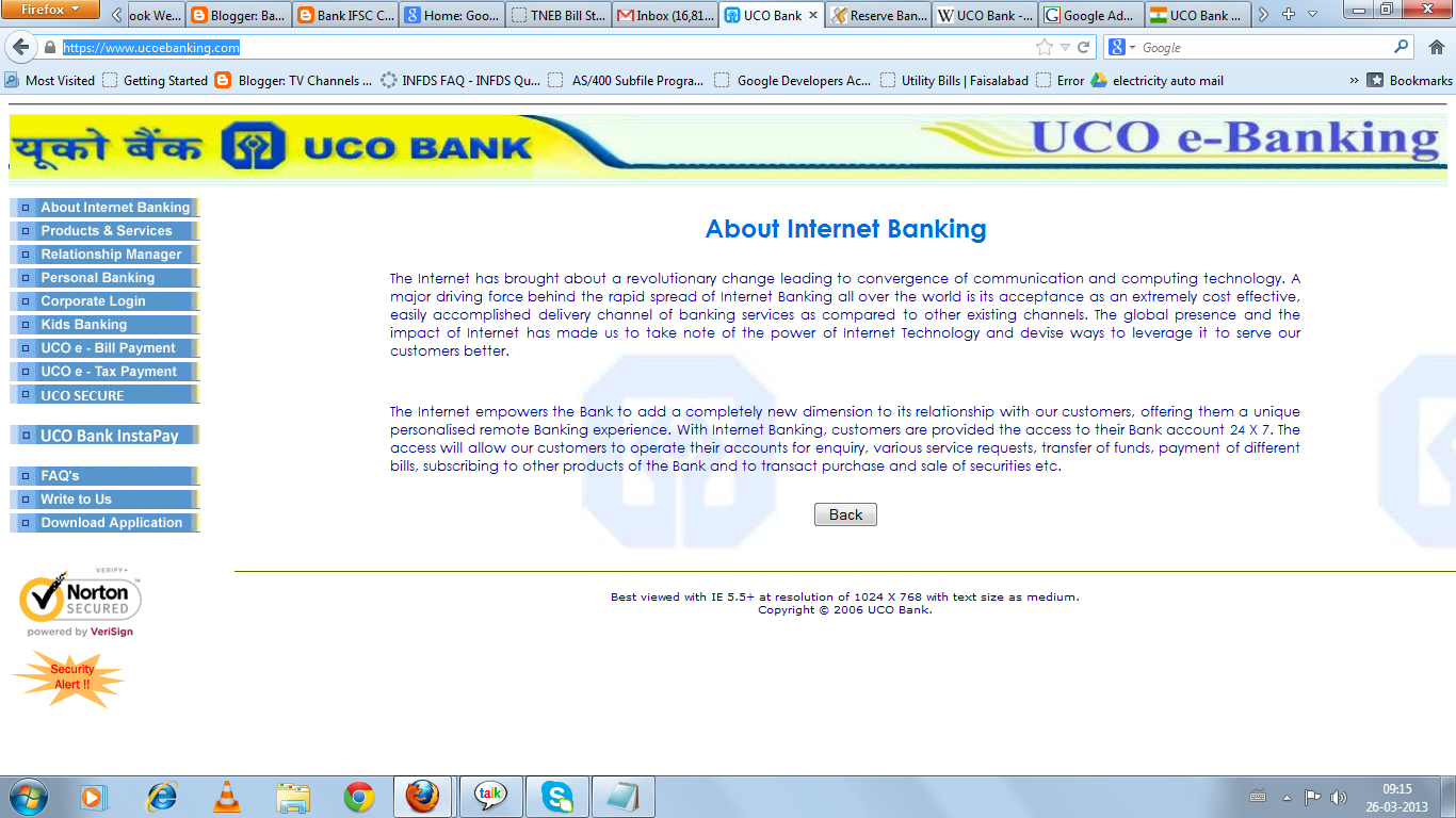 Bank ifsc codemicr codeswift codesort codebsb code atmbranches for personal banking or corporate log in are available in uco bank httpsucoebanking falaconquin