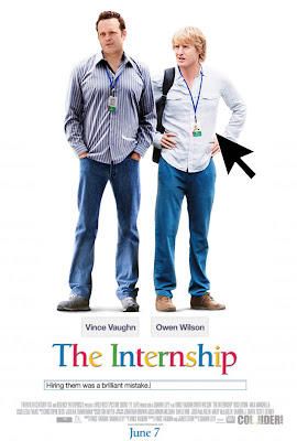 The internship Movire poster