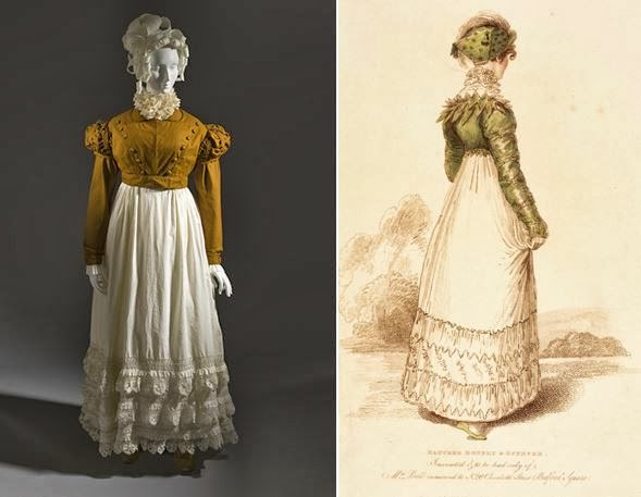 Populaire La mode au fil de l'histoire: La mode au temps de Jane Austen KG79