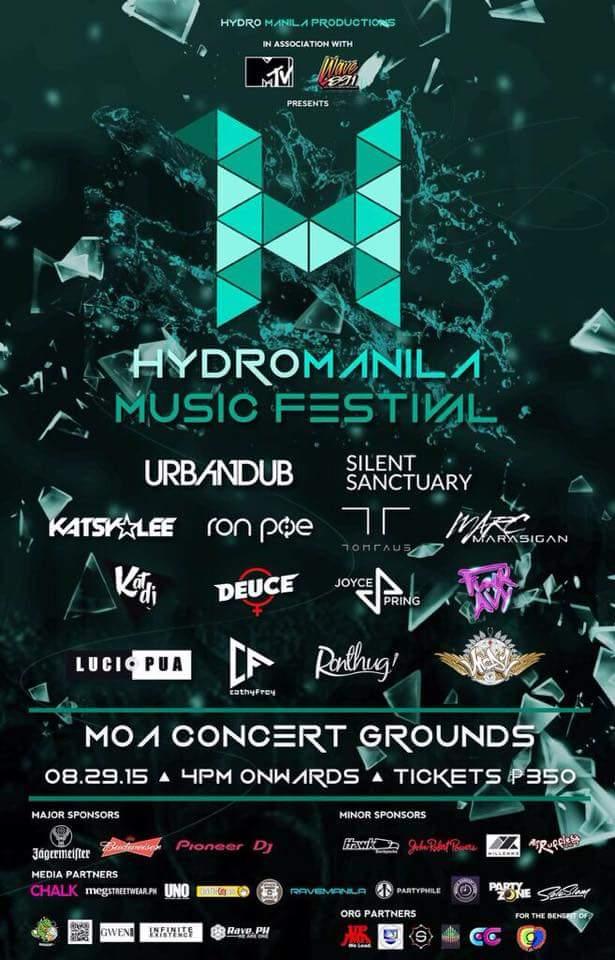 hydro manila music festival manila concert scene