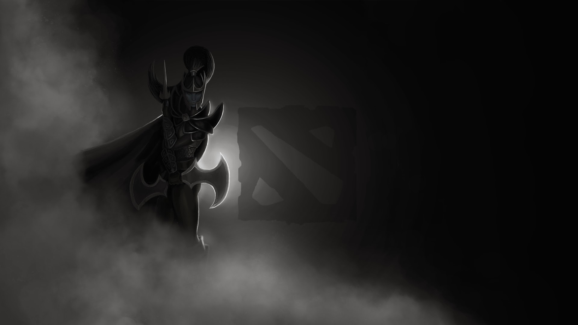 Mortred Phantom Assassin Dota 2 Logo 1y Wallpaper HD
