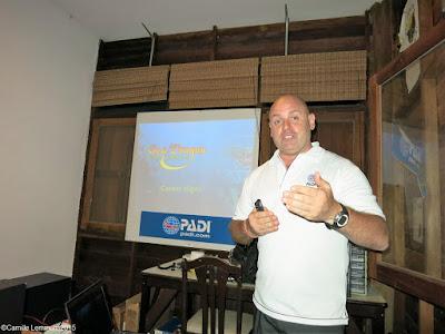 PADI Go Pro seminar in Khao Lak, Thailand