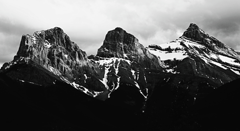 three sisters canmore alberta travel photography series