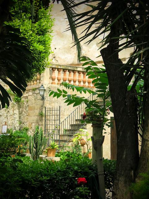 Arabiska baden i Palma