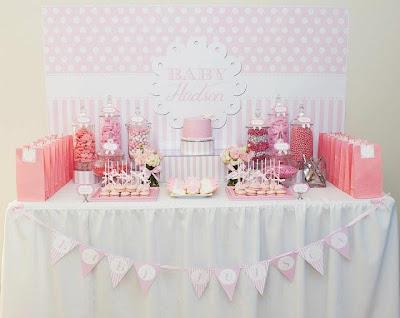 pink magaline pink baby shower ideas. Black Bedroom Furniture Sets. Home Design Ideas
