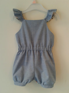E&E Pleated Playsuit