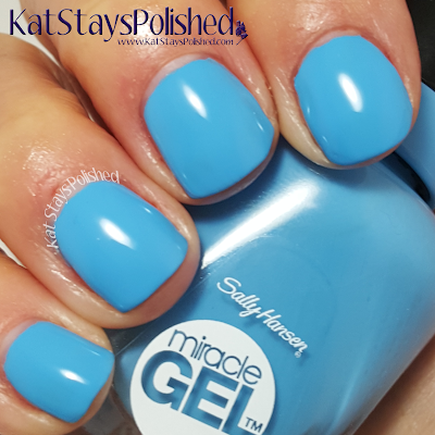 Sally Hansen Reformulated Miracle Gel - Rhythm & Blue | Kat Stays Polished