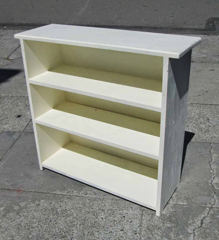 Excellent Express Small White Bookcase  Office Stock