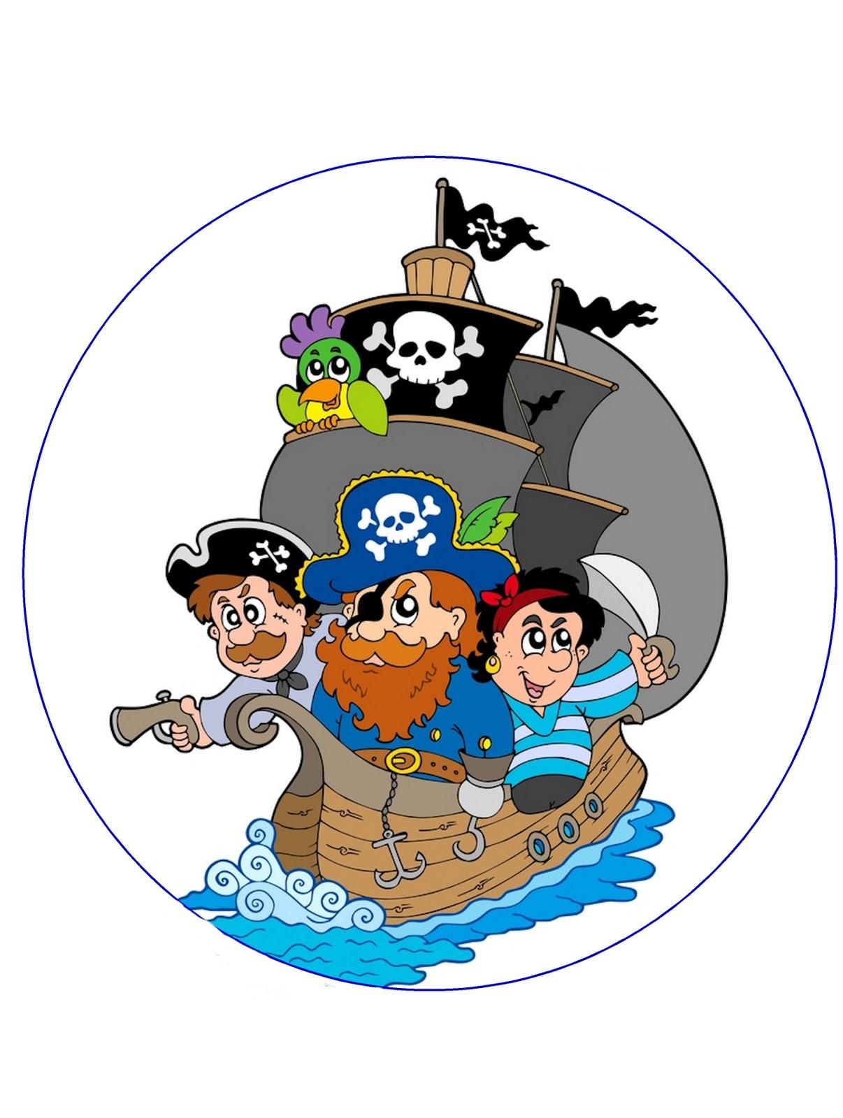 Con Nuestra Nueva Oblea Para Tartas Y Con Las Mini Obleas De Piratas