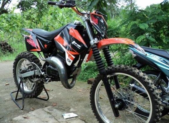 ide modifikasi motor rx king menjadi trail
