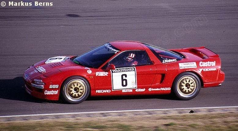 Honda NSX japoński supercar sportowy samochód kultowy V6 RWD wyścigi racing ADAC