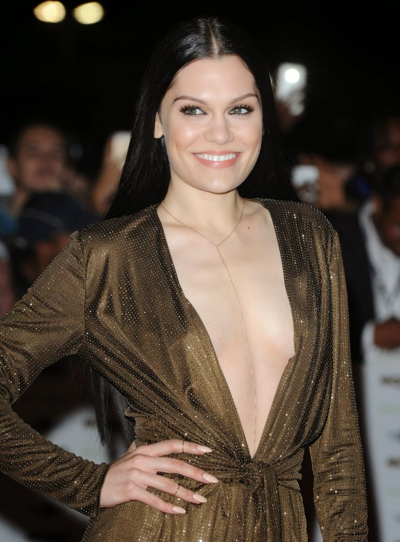 Jessie J Dazzling Photos at MOBO Awards 2014