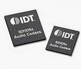 IDT High Definition Audio drivers versão 6.10.6492  atualizado 2013