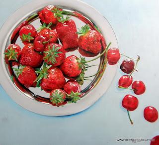 Bodegon de fresas