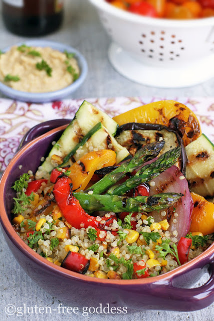 QUINOA AND GRILLED VEGGIES