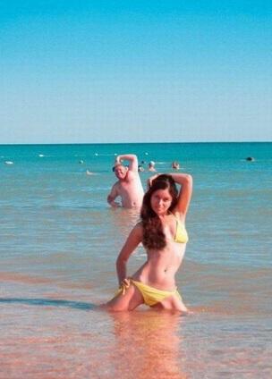 Imágenes en la playa graciosas