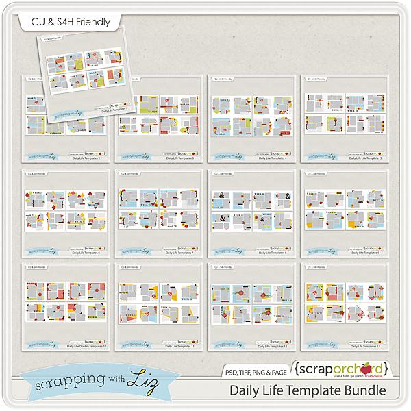 http://scraporchard.com/market/Daily-Life-Digital-Scrapbook-Templates-Bundle.html